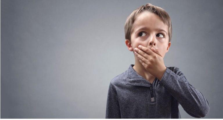 الكذب عند الاطفال