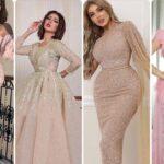 أحدث الفساتين السواريه 2021