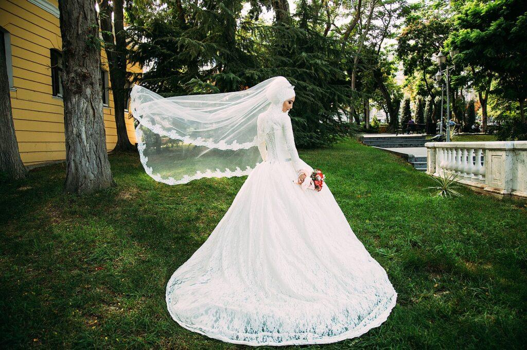 طرحة العروسة